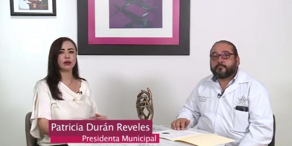 Naucalpan, saturación, hospitalaria, módulo, COVID-19, coronavirus, presidente municipal, Patricia Durán
