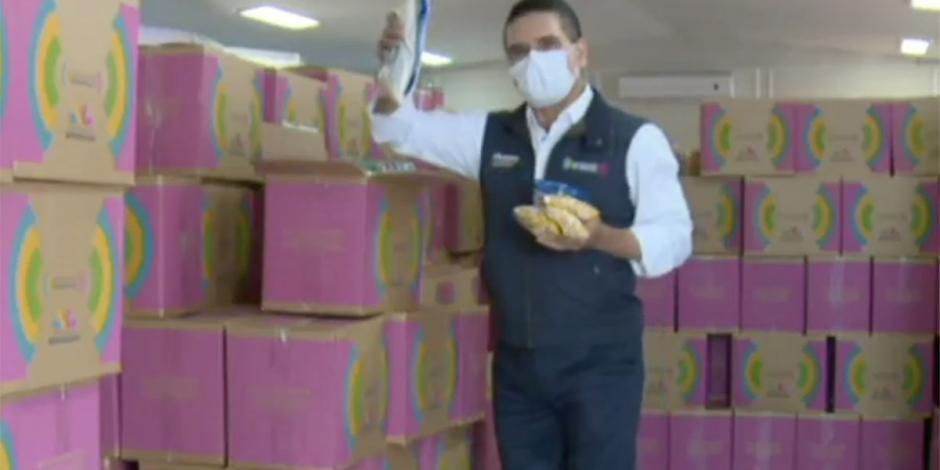 Arranca Michoacán entrega de despensas ante pandemia