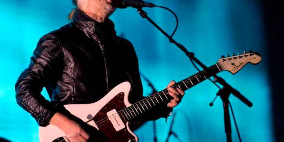 """Thom Yorke lanza cuatro canciones en """"streaming"""""""