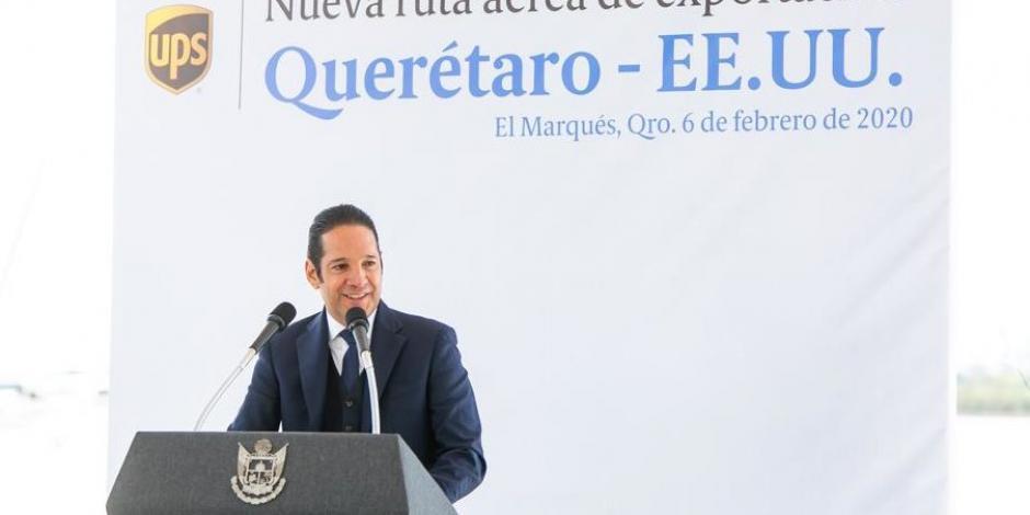 Francisco Domínguez y Landau inauguran ruta de exportación en Querétaro