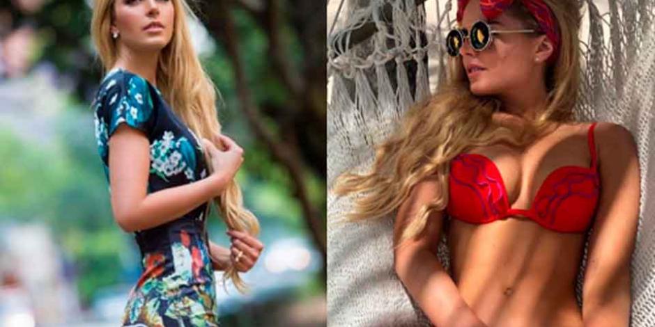 Tania Ruiz, novia de Peña Nieto, derrocha sensualidad en la playa (FOTOS)