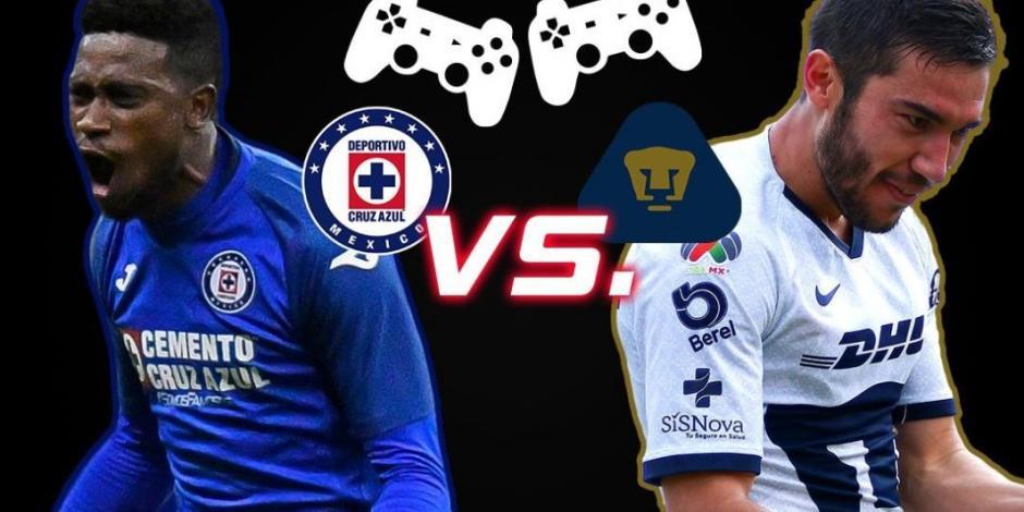 De último minuto, Pumas acaba con buena racha de Cruz Azul en eLiga MX