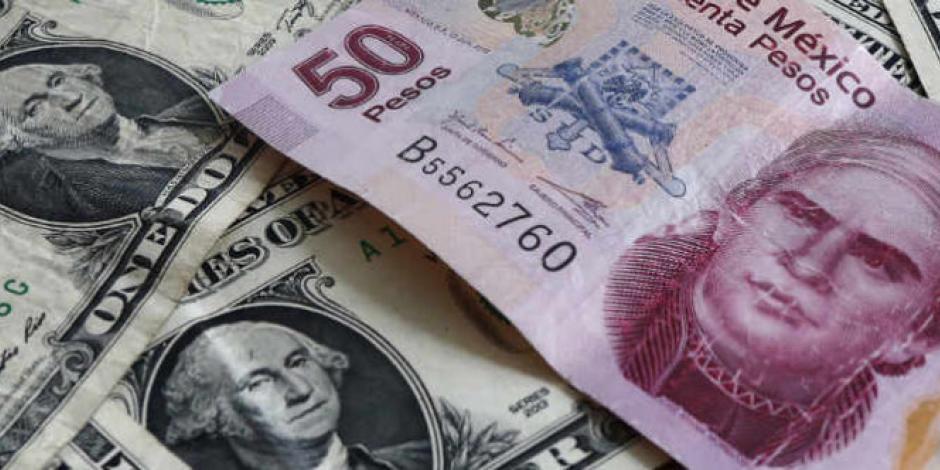 Peso suma su tercer día de ganancias; dólar cotiza en $23.58 en bancos