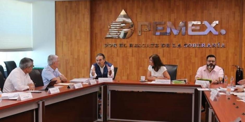 Por primera vez, Consejo de Pemex celebra sesión ordinaria en Campeche