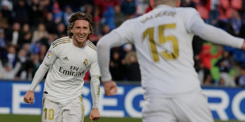 Real Madrid sale de la mala racha y vence al Getafe