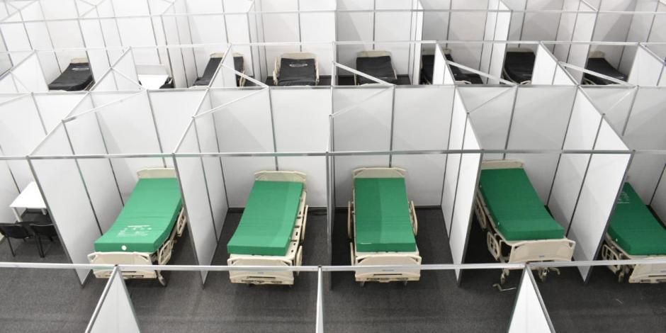 Casi sin camas 62 % de hospitales en Edomex