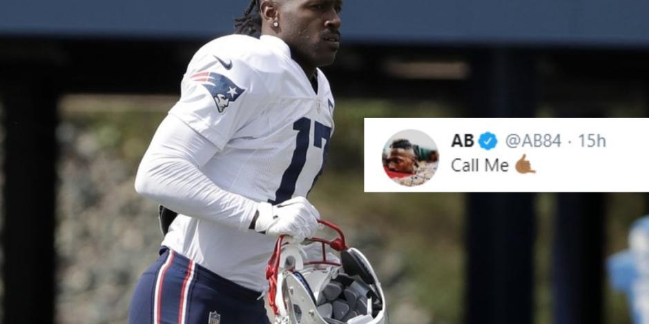 Brown manda mensaje a Brady, tras eliminación de los Pats en Playoffs