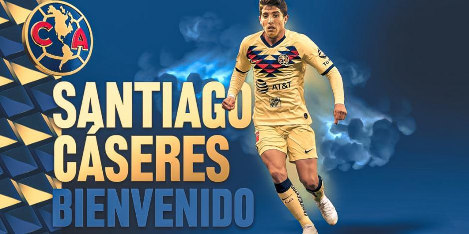 Así juega Santiago Cáseres, nuevo refuerzo del América (VIDEO)