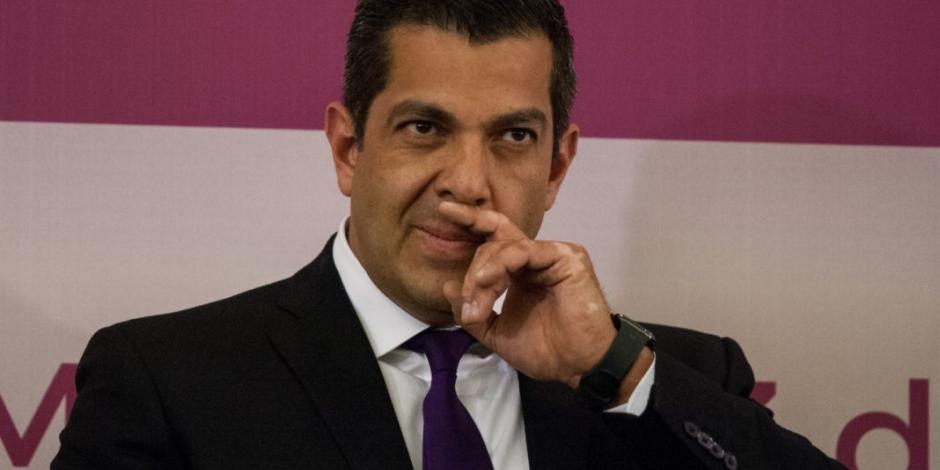 Desmiente Ricardo Peralta que haya renunciado a subsecretaría de Segob