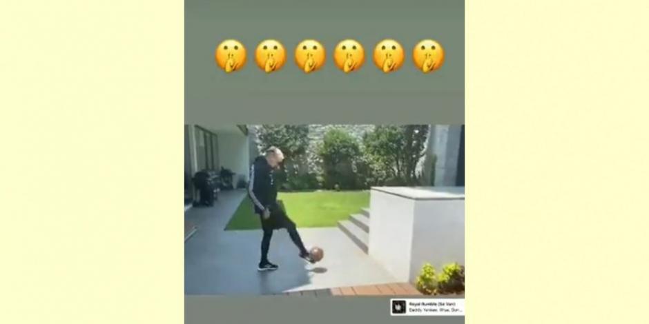 Nicolás Castillo presume su recuperación en redes sociales (VIDEO)