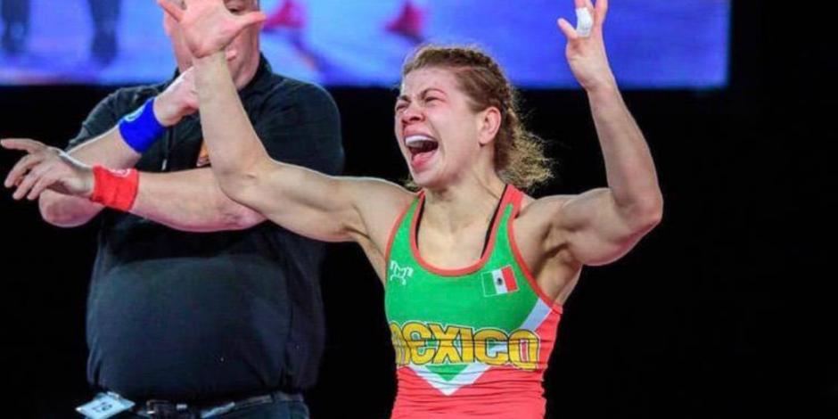 Jane Valencia, primera luchadora mexicana que logra pase a JO