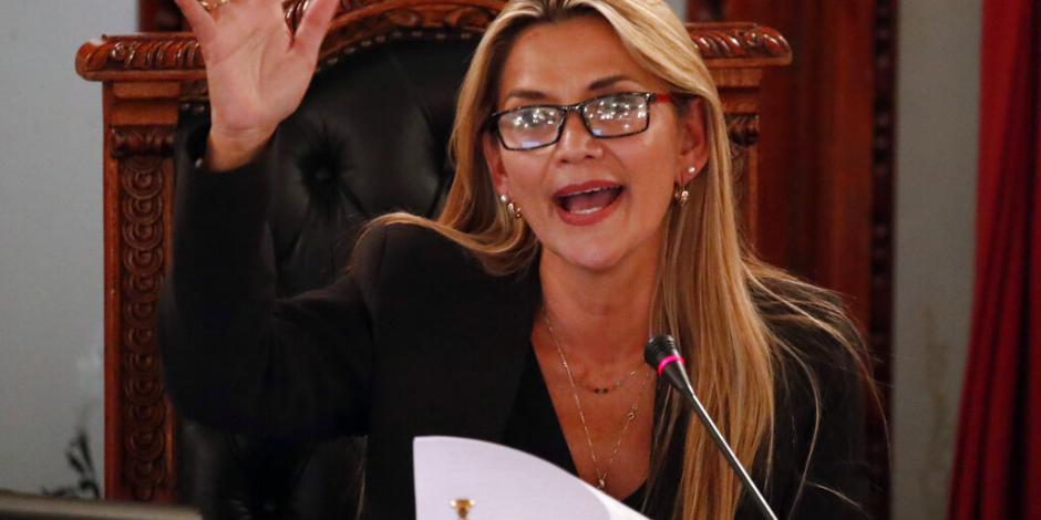 Jeanine Áñez anuncia candidatura a presidencia de Bolivia
