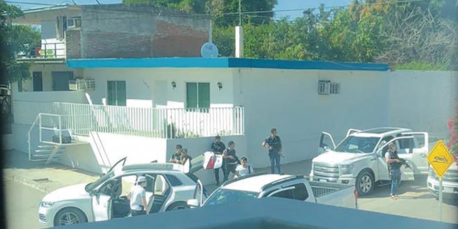 Ejecución genera fuego cruzado en Culiacán