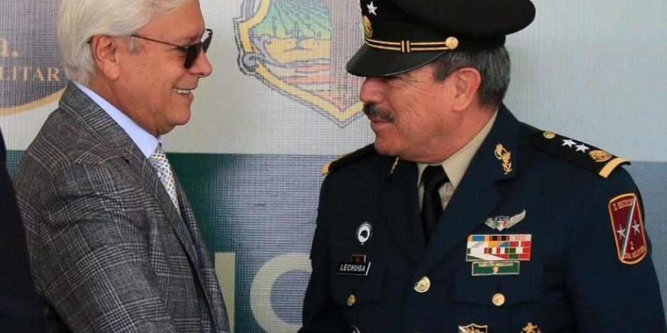 Bonilla Valdez reconoce actuar del Ejército Mexicano en Baja California
