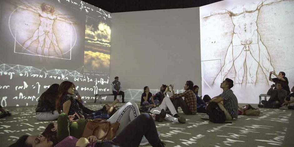 Muestra multisensorial Da Vinci experience convoca a 20 mil en menos de un mes