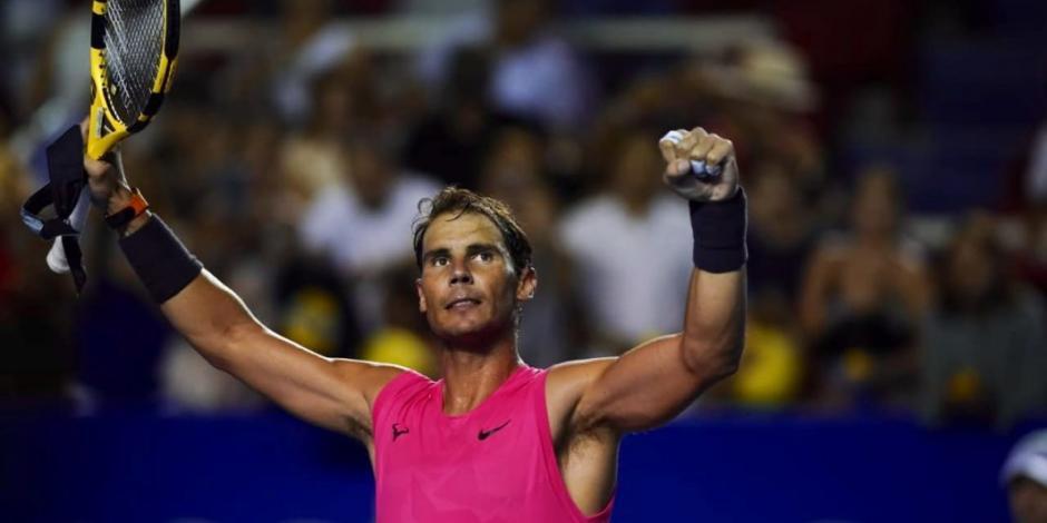 Rafael Nadal clasifica a su cuarta final en el Abierto de Acapulco