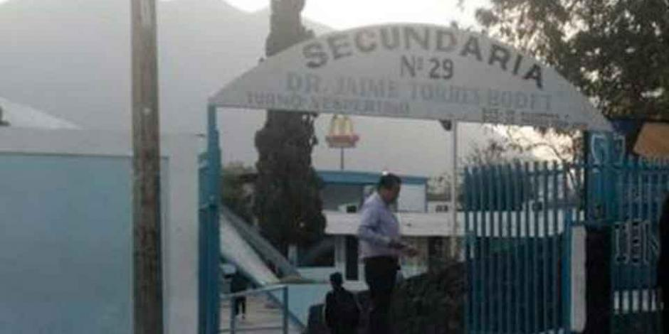 Amenaza de alumno de tiroteo moviliza a policía en Monterrey