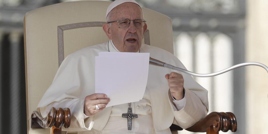 Sale negativa prueba de coronavirus del Papa Francisco