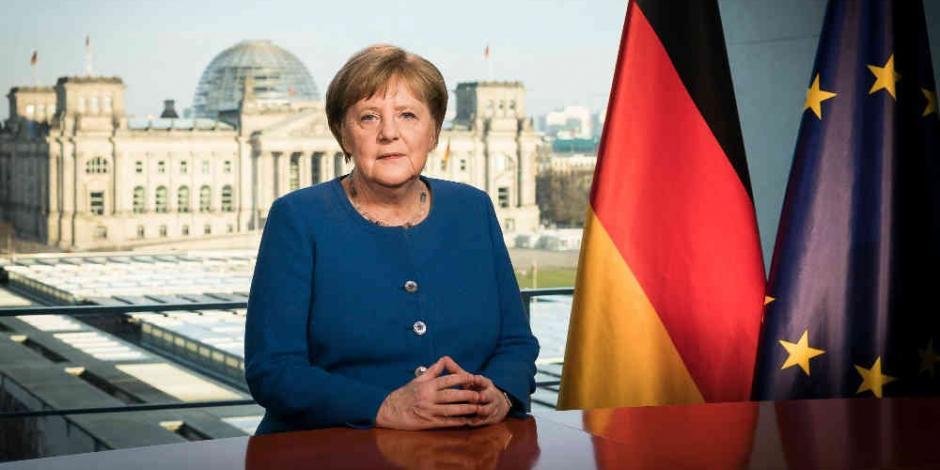 Angela Merkel entra en cuarentena tras reunirse con médico con COVID-19