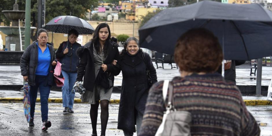 Frente frío 29 ocasionará clima frío, viento y lluvias en gran parte del país