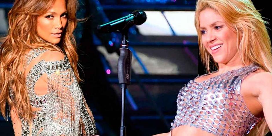 Filtran setlist de Shakira y JLo para el halftime show del Super Bowl