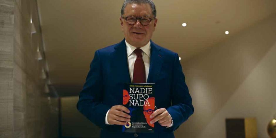 """""""Mi libro intenta recuperar la historia de una lucha de poder"""": Jorge Fernández Menéndez"""