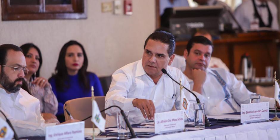 Aureoles empuja en Conago revisar seguridad por regiones en el país