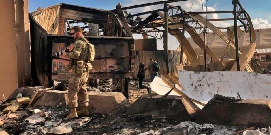 Reportan nuevo ataque con misiles contra una base iraquí que alberga fuerzas de EU