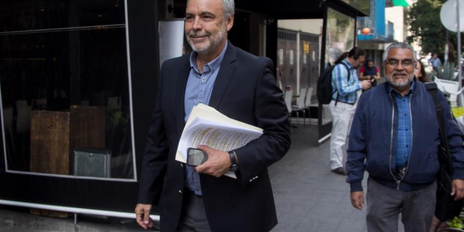 Él es Alfonso Ramírez Cuéllar, el nuevo presidente interino de Morena