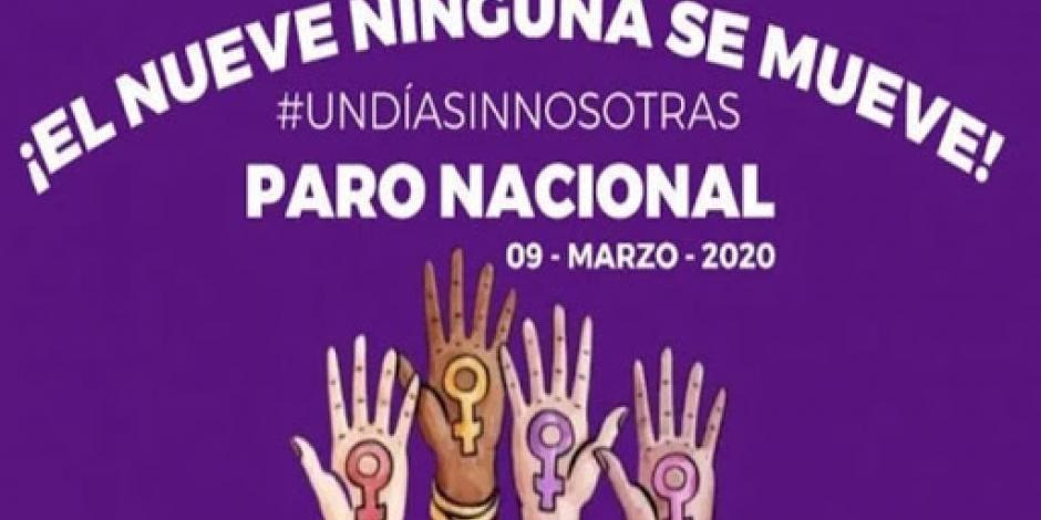 Alcaldía Benito Juárez se suma al paro nacional #UnDíaSinNosotras