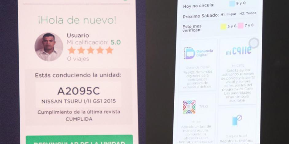 En marzo comienza a funcionar MiTaxi, la app exclusiva de la CDMX
