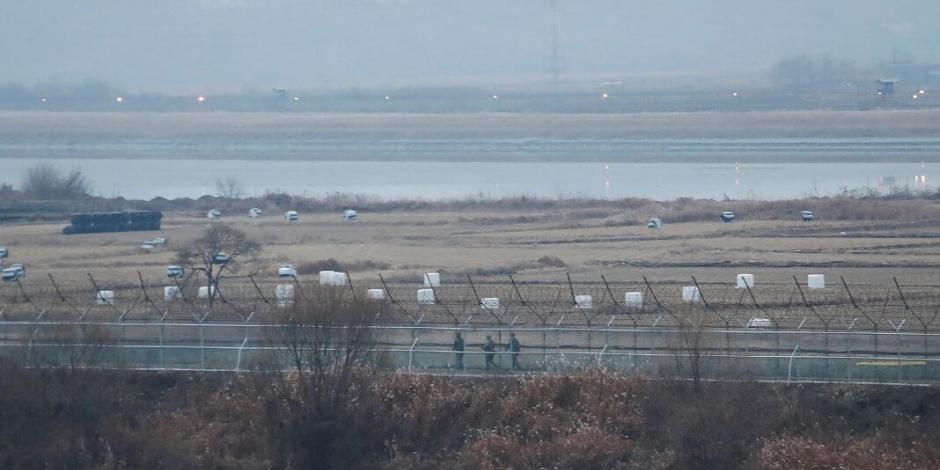Corea del Sur y Norcorea intercambian fuego en la frontera