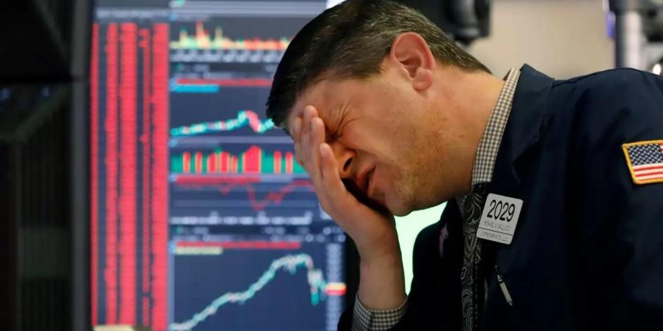 Wall Street abre en rojo ante aumento de contagios por COVID-19