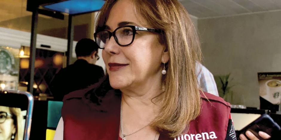 Zanja INE por ahora disputa en Morena: Yeidckol sigue siendo presidenta interina