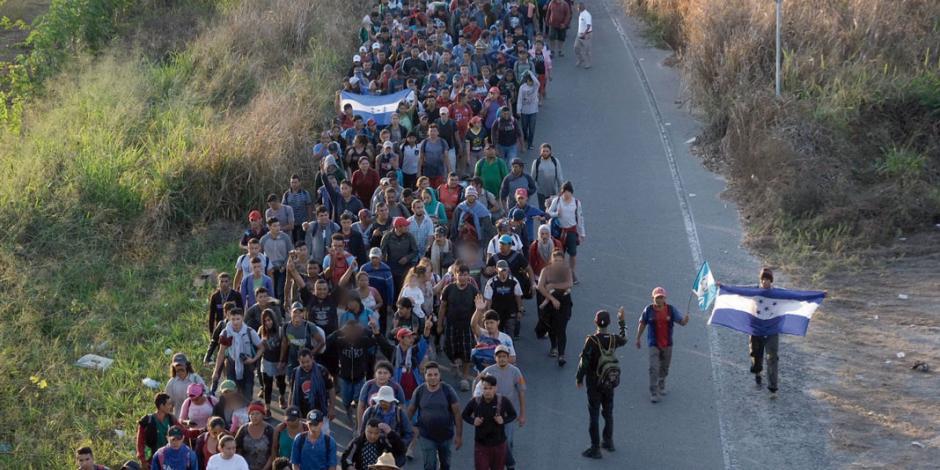 Desperdigados en el país 99.7% de 66 mil que esperan asilo de EU