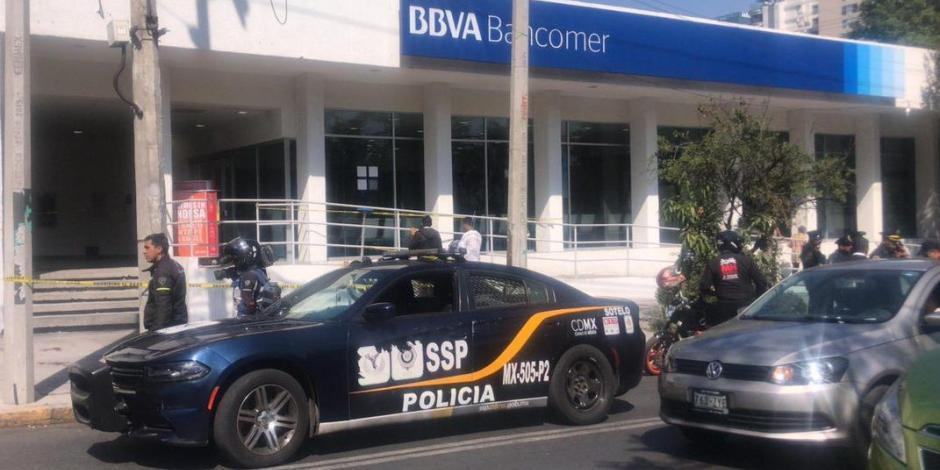 Afinan plan para combatir robo a cuentahabiente en CDMX