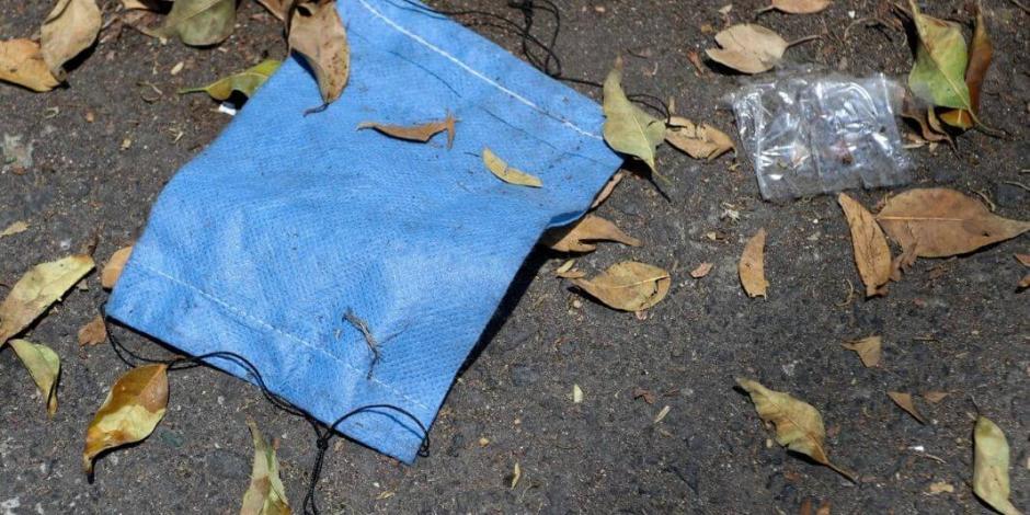 Acusan en Puebla lavado y reventa de cubrebocas usados