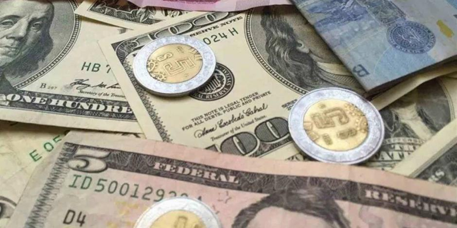 Peso gana 0.64%; dólar cotiza en $24.50 por unidad en bancos