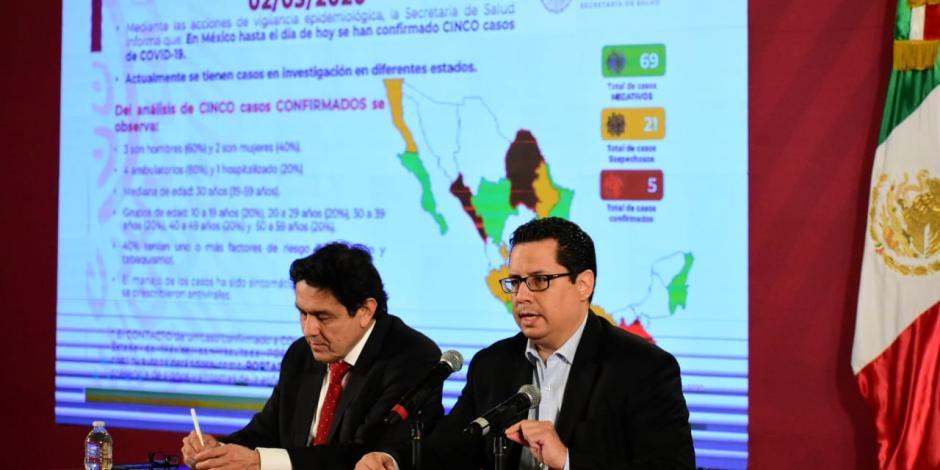 Por casos de Covid-19 hay 122 contactos identificadosen México
