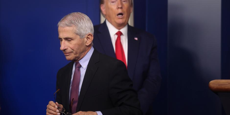 Asesor de Trump tunde plan de reapertura ante el Senado