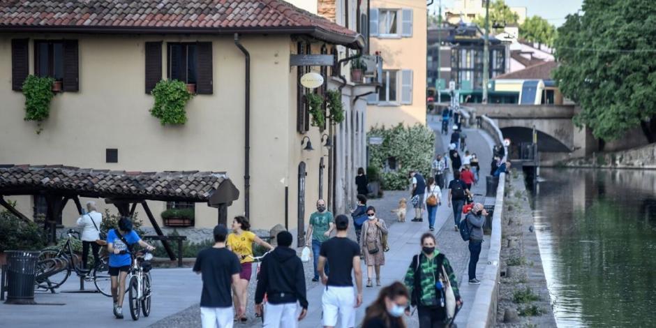 Dan de alta a 8,000 personas recuperadas de COVID-19 en Italia