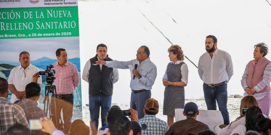 Abre Guerrero nueva celda de relleno sanitario
