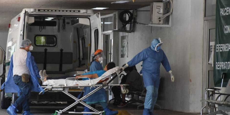 Hospitales COVID-19. (Archivo)