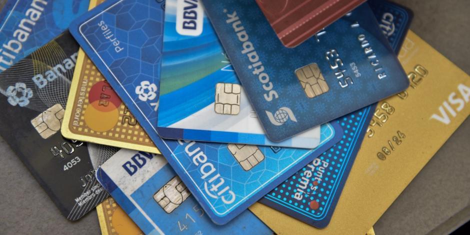 tarjetas de crédito, Banxico