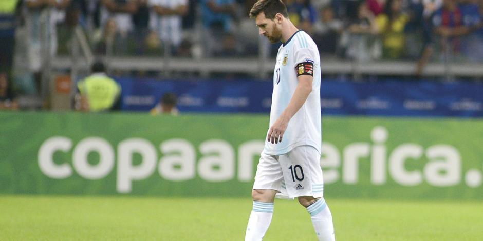 Argentina, con un pie fuera de Copa América