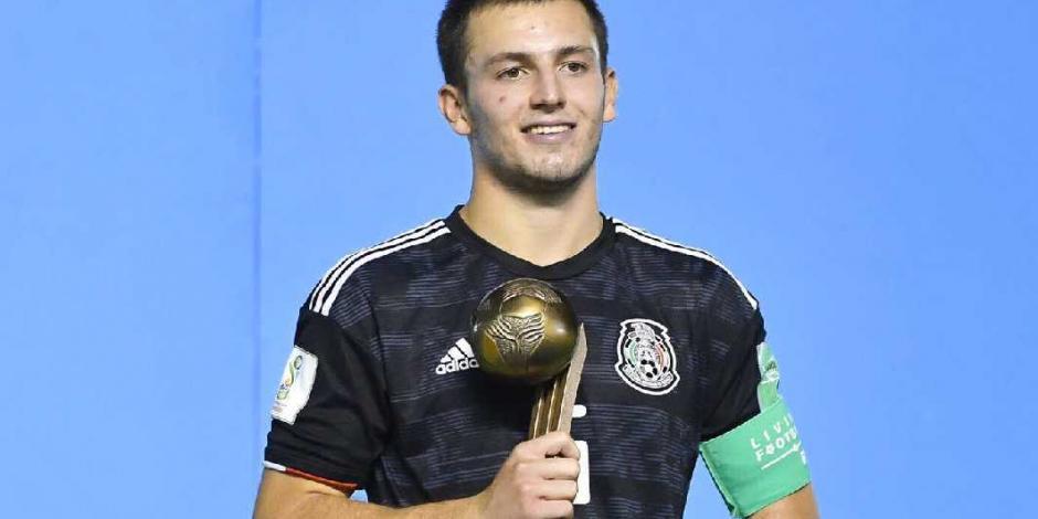 Mexicano Pizzuto gana Balón de Bronce en Mundial Sub 17