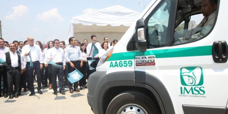 Detecta ASF múltiples irregularidades en renta de ambulancias al IMSS
