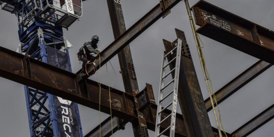 Producción de empresas constructoras cae 11.1% en octubre