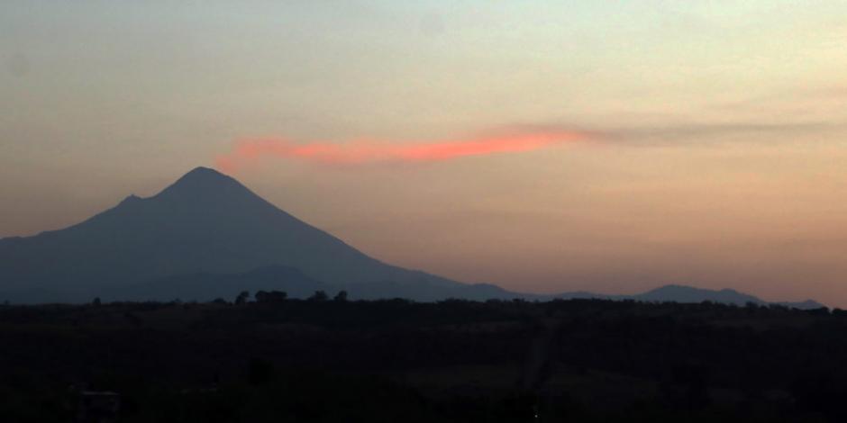 Popocatépetl registra, en las últimas 24 horas, 138 exhalaciones