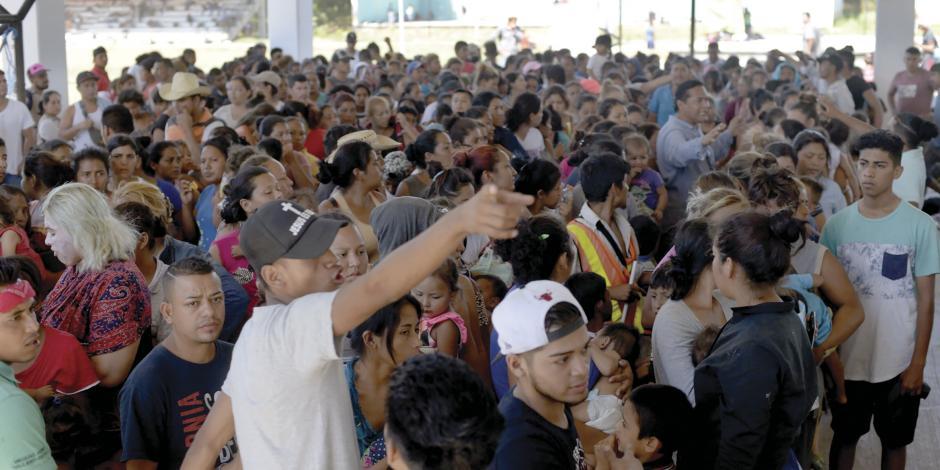 """Alerta Segob: alistan """"caravana madre"""" de 20 mil personas"""